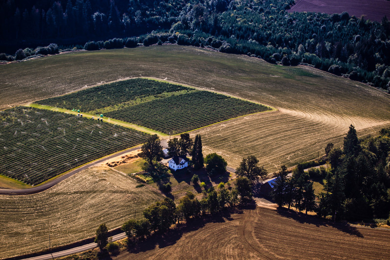 Farming in Oregon