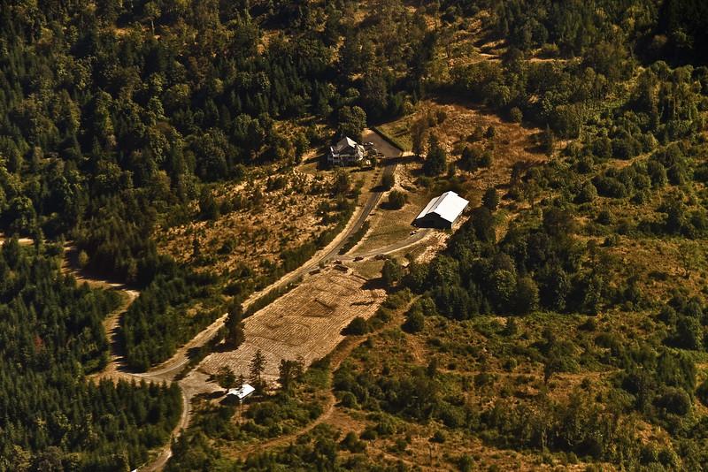 Remote farm in Oregon