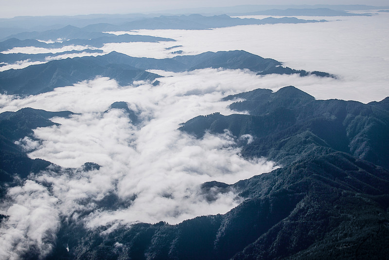 Fog on the Oregon coast